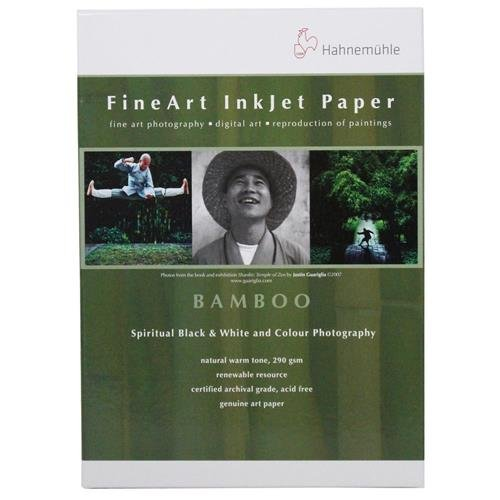 Hahnemuhle 17 x 22'' Bamboo Fine Art Paper (25 Sheets)
