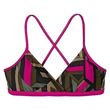 854f90dbd091c Patagonia Print Kupala Women's Bikini Top estrella: flash pink Size ...