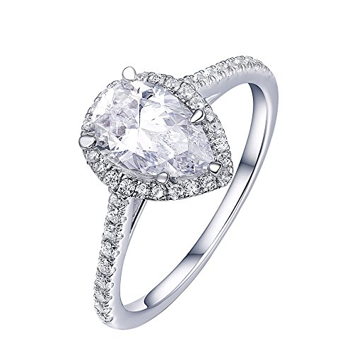 Diamond Halo Ring - 5