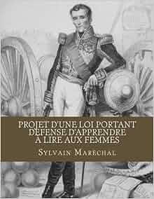 Projet dune loi portant dèfense dapprendre à lire aux ...