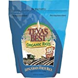 Texas Best Organics Long Grain White Rice, 32 Ounce - 6 per case.