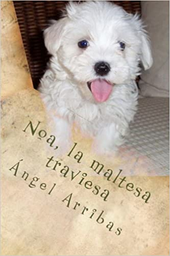 Noa, la maltesa traviesa (Spanish Edition): Ángel Arribas ...
