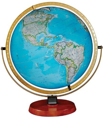 Replogle Desktop World Globe (Nicollet Illuminated Desktop World Globe From National Geographic)
