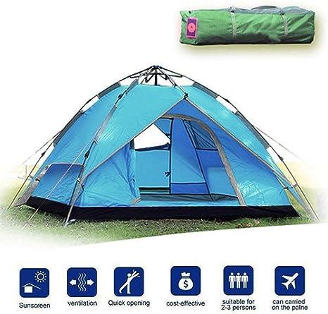 Facile da Montare Gonex Tenda da Campeggio Escursioni con Zaino in Spalla e Alpinismo per 3 Stagioni Antivento e Impermeabile Perfetta per Campeggio Tenda a Cupola per 2//4 Persone Trekking