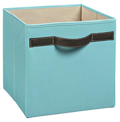 icals Premium Fabric Bin, Robins Egg (Premium Storage Cube)