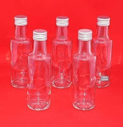 Botellas de Vidrio Vacías para Licor Zumos Aguardiente 100ml/250ml/350ml/500ml Bordo