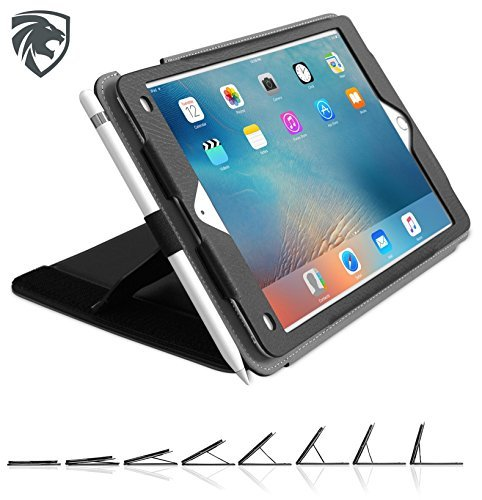 ZUGU CASE ZUGU CASE - 2016 iPad Pro 9.7 Case Genius Pro - Best iPad Stand Cover, Wake / Sleep - (Back of iPad Model #'s A1673, A1674, A1675) price tips cheap