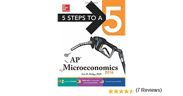 Amazon.com: 5 Steps to a 5 AP Microeconomics 2016 (5 Steps to a 5 ...