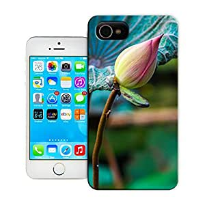 SIYJHO pink lotus picture of TUP new style scratch-proof covers for iphone4