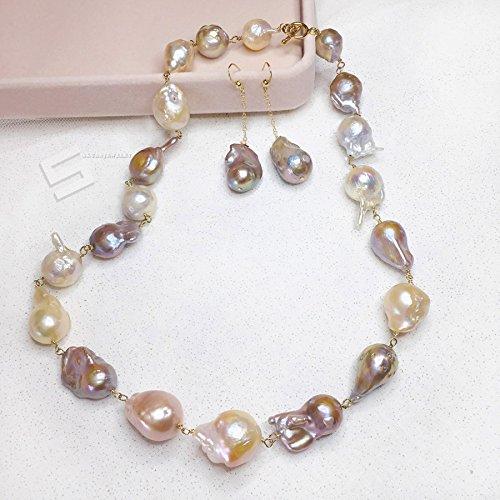 Colored Baroque Pearl - 7