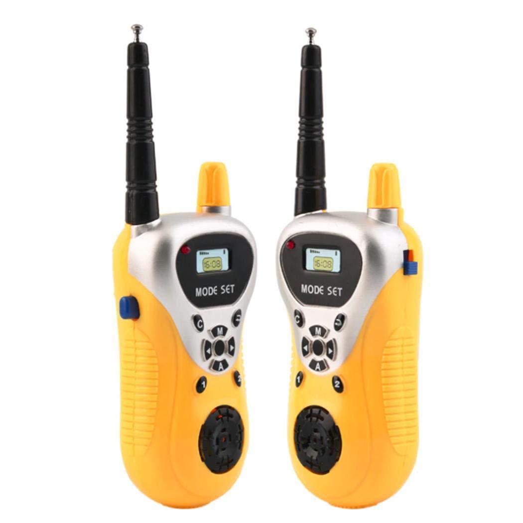 hiriyt Kids Mini Electronic Portable Handheld Two-Ways Radio Walkie Talkie Toy Walkie Talkies by hiriyt (Image #5)