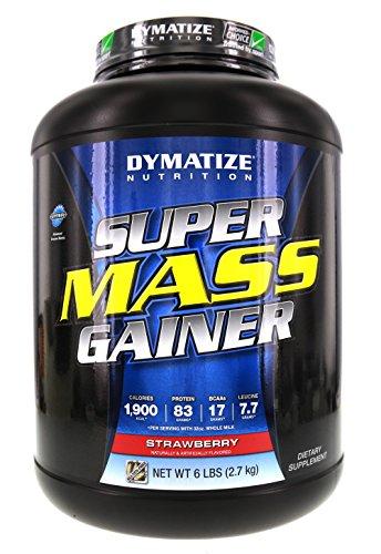 Dymatize Super Mass Gainer Strawberry 6 lbs