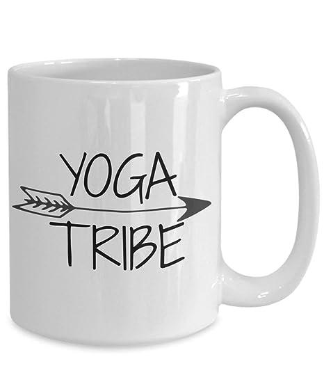 YOGA TRIBE MUG Yoga Coffee Mug: Amazon.es: Hogar