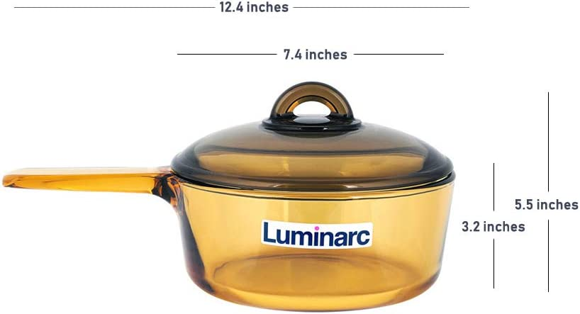 Amazon.com: Luminarc Amberline Blooming - Cazo de cocina ...