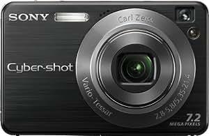 Sony Cybershot DSCW120/B 7.2MP Digital Camera with 4x Optical Zoom with Super Steady Shot (Black)