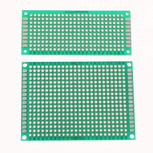 WXQ-XQ 4PC 5×7 4×6 3×7 2x8cm両面プロトタイプPCBためのシールドボードDIY