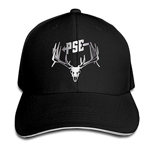 - KMRR PSE Bow Hunting Deer Buck S Platinum Style Flex Baseball Cap Black