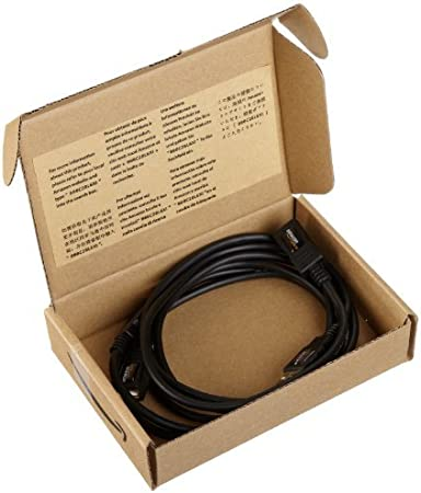10-Pack 9.8 Feet 3 Meters Basics USB 2.0 Extension Cable A-Male to A-Female