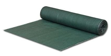 Bradas AS-CO6015050GR Sichtschutz - Windschutz - Staubschutz, 1,5 x 50 m, Schattierwert 55 %, dunkelgrün