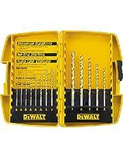 DEWALT DW1363 13-Piece Titanium Split-Point Twist Drill-Bit Assortment