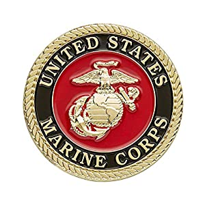 United States Marine Corps Challenge Coin with Prayer by amzcoin