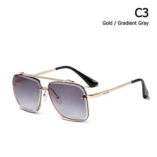 Yangjing-hl Gafas de Sol graduadas clásicas de Estilo ...