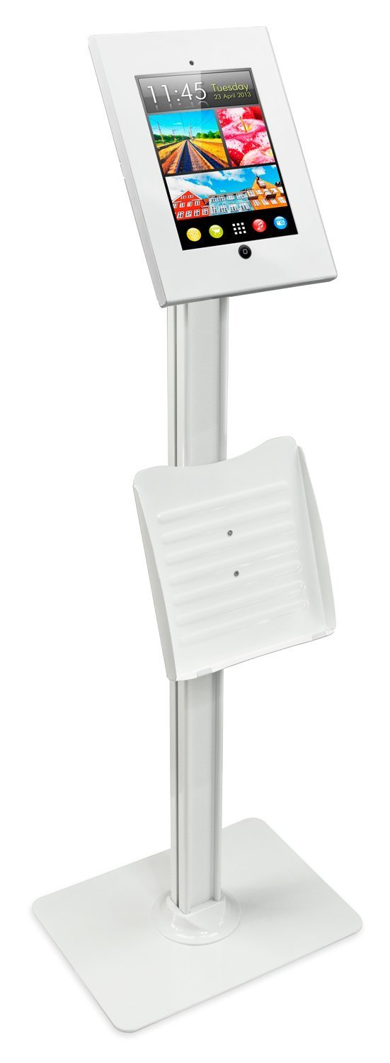 Recommended iPad floor mount for Visitor Aware Check in Kiosks