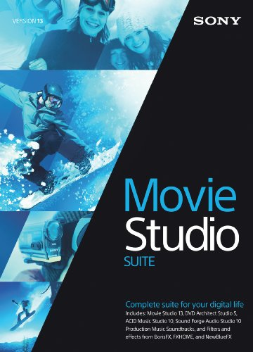 (Sony Movie Studio 13 Suite- 30 Day Free Trial [Download])