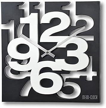 GMMH 3 D diseño Moderno Reloj de Pared de 1106 de Cocina baduhr Oficina Reloj de la decoración Tranquila
