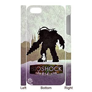 Custom Your Own Personalized Shooter Games iPhone 5 Case, Snap On Hard Protective Bioshock Infinite iPhone 5 Case Cover wangjiang maoyi