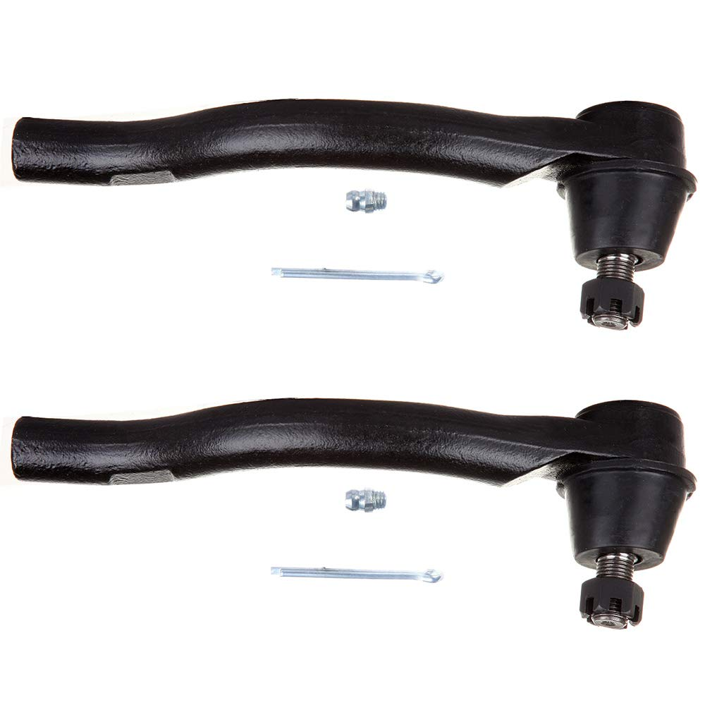 New 2-Piece fit for 2006 2007 2008 2009 2010 2011 Honda Civic Outer-2 Front Right Left Outer Tie Rod End OCPTY