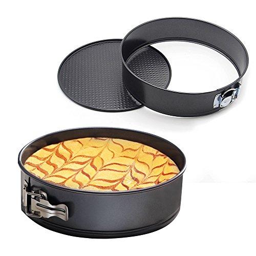 MZCH 9 inches Nonstick Springform Cake Pan Round Cheesecake