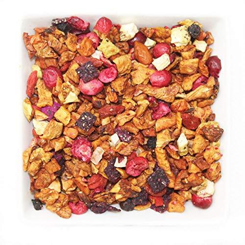 Tealyra - Tropical Harvest - Dragon Fruit - Sea Buckthorn - Goji - Pineapple - Cranberry - Fruity Herbal Loose Leaf Tea - Caffeine Free - Hot or Iced - 112g (4-ounce) -