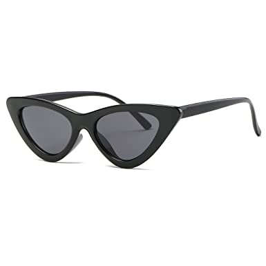 784ec0956f34 Kimorn Cat Eye Sunglasses For Women Clout Goggles Kurt Cobain Sun Glasses  K0566 (Black): Amazon.co.uk: Clothing