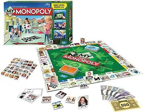 Hasbro Monopoly - My Monopoly (versión en francés): Amazon.es: Juguetes y juegos