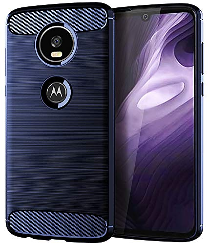 Moto Z4 Case,Moto Z4 Play Case,Moto Z4 Force Case, Asmart Shock Absorption Moto Z4 Phone Case Slim Thin TPU Bumper Cover Skin Soft Flexible Lightweight Protective Case for Motorola Moto Z4 Play,Blue