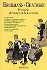 Histoires d'Alsace et de Lorraine par Erckmann-Chatrian
