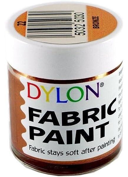 DYLON tinte textil Metálico Bronce 25ml: Amazon.es: Hogar