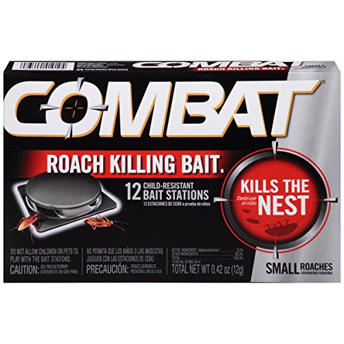 Combat Small Roach Bait, 12 baits per Pack
