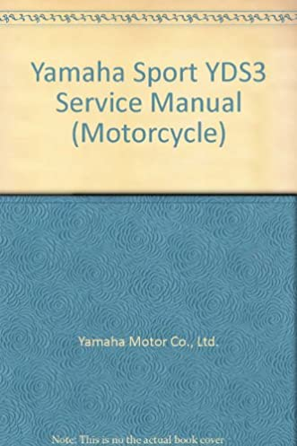 yamaha sport yds3 service manual motorcycle ltd yamaha motor co rh amazon com Nissan UD 1800 Manual 1964 Ford Shop Manual Diagrams