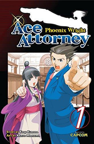 Top ace attorney manga