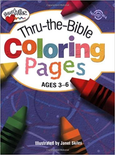 Thru The Bible Coloring Pages Ages 3 6 Heartshaper Standard