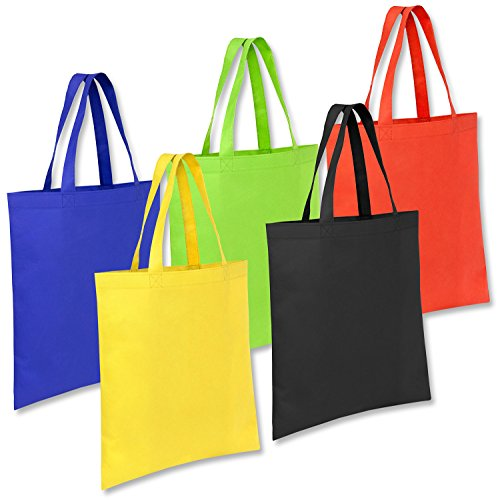 50 PACK-Great Deal! (Only $0.99 Each Bag) Wholesale Promo Non Woven Tote Bag, Size 13