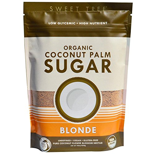Big Farms Coconut Tree (Big Tree Farms Organic Coconut Sugar, Blonde, 16-Ounce Pouch)