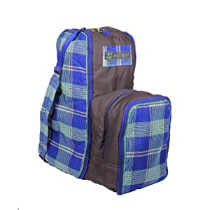 Kensington KPP English Boot Carry All Bag, Blue Ice Plaid, One Size