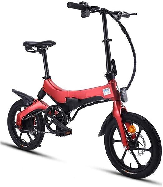 Bicicleta Eléctrica Coche eléctrico plegable Bicicleta for adultos ...