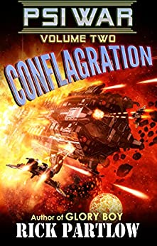 Conflagration (Psi War Book 2) by [Partlow, Rick]