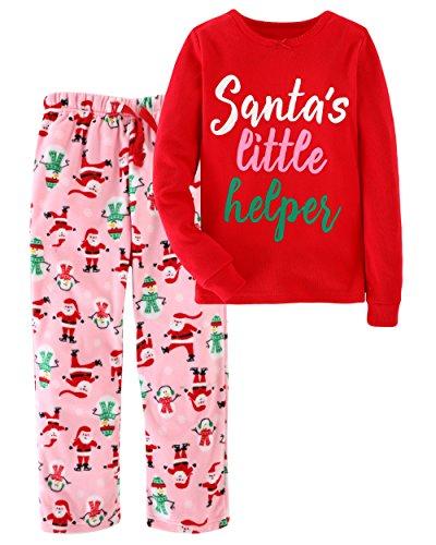 Little Bitty Christmas Girls2 Piece Pajamas Sleepwear Set Shirt&Leggings Infant Baby Toddler Kid Children Soft Cute