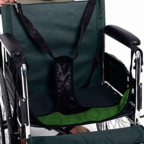 LUCKYYAN Medical Mesh Skid Proof type Soft Cushion Belt - for Wheelchair or Bed GREEN by LUCKYYAN (Image #1)