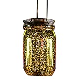 ReFaXi Solar Firefly Lights for Garden Party Wedding Christmas Decoration (Gold Plated)